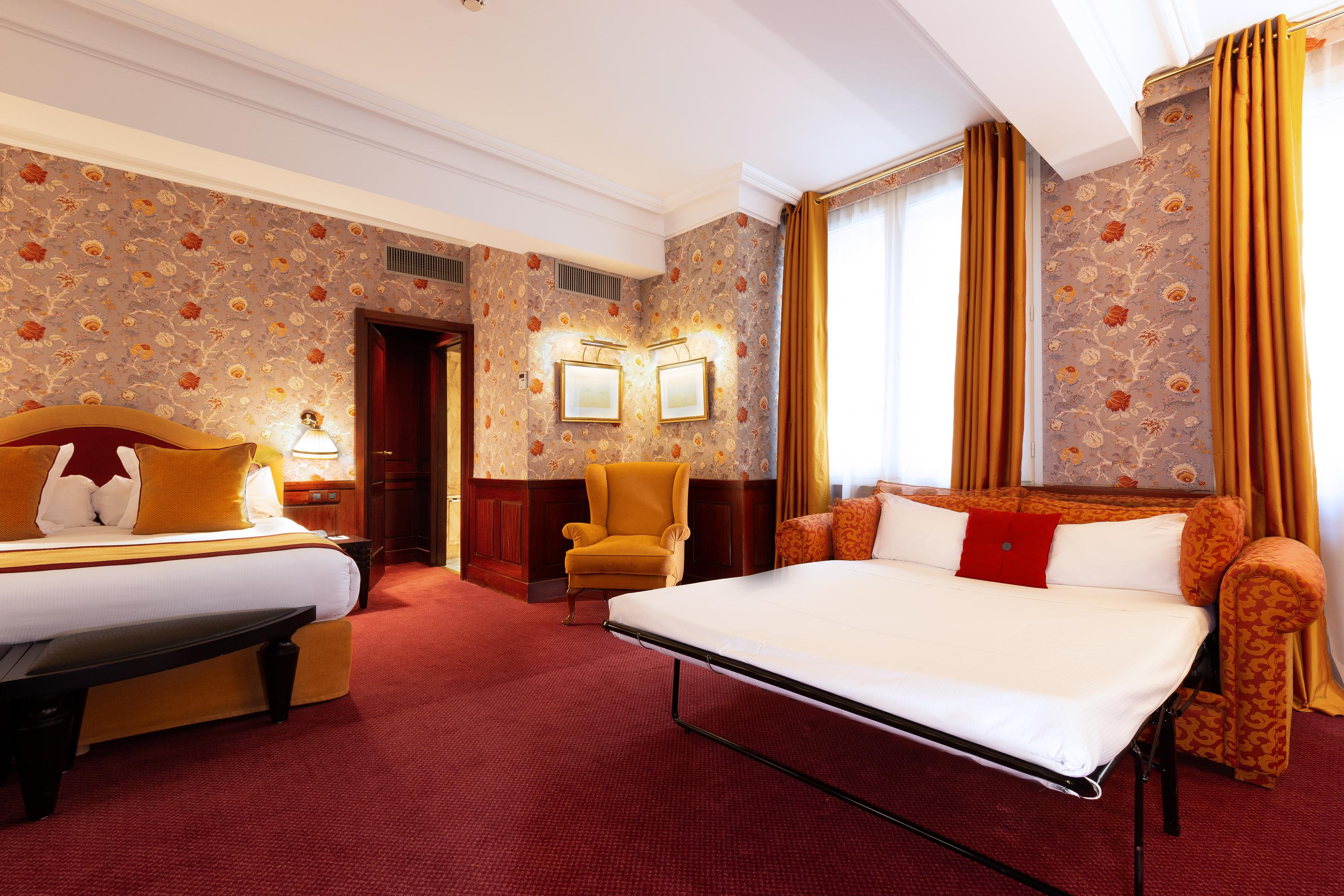 Chambre Deluxe privilège familiale-hotel luxe toulouse